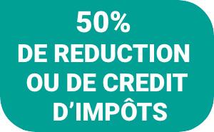 50% de déduction fiscale avec remue menage